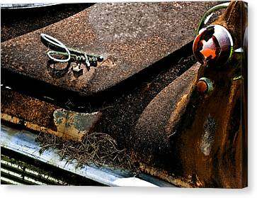 Rusty Impe Canvas Print by DigiArt Diaries by Vicky B Fuller