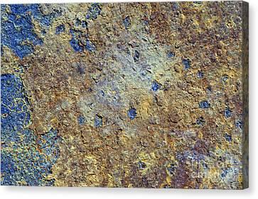 Rusty Metal Canvas Print by Michal Boubin