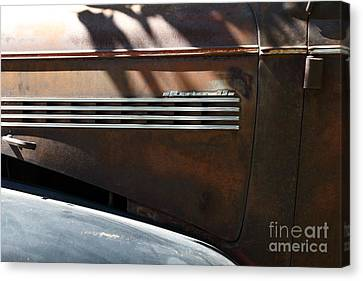 Rusty Old 1939 Chevrolet Master 85 . 5d16199 Canvas Print by Wingsdomain Art and Photography