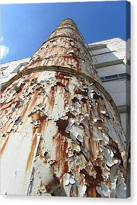 Rusty Tower Canvas Print by Todd Sherlock