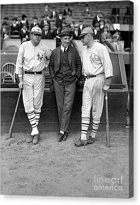 Ruth, Dunn And Bentley Canvas Print by Granger
