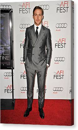 Ryan Gosling At Arrivals For Afi Fest Canvas Print by Everett