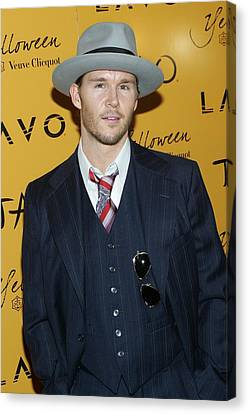 Tao Nightclub At The Venetian Resort Hotel Casino Canvas Print - Ryan Kwanten At Arrivals For Veuve by Everett