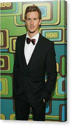 Ryan Kwanten At The After-party Canvas Print by Everett