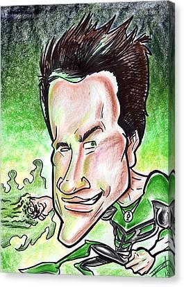 Ryan Reynolds Canvas Print by Big Mike Roate