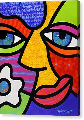 Sabrina Starr Canvas Print by Steven Scott