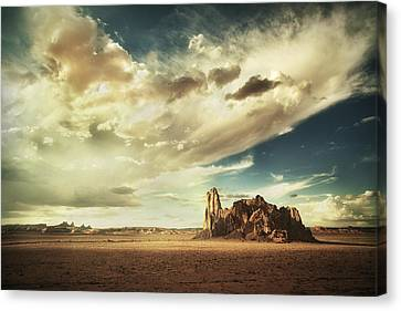 Sacred Land Canvas Print by Stuart Deacon