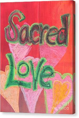 Sacred Love Canvas Print