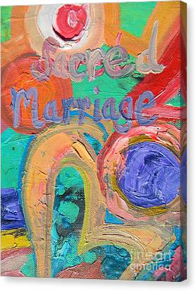 Sacred Marriage Canvas Print