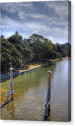 Sacred River Canvas Print