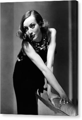 Sadie Mckee, Joan Crawford, 1934 Canvas Print by Everett