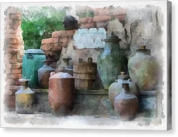 Safe Water For Travellers Canvas Print by Matt Matthews