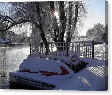 Safe Winter Canvas Print