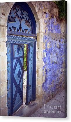 Safed Door Canvas Print
