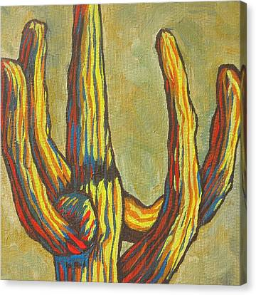 Saguaro 7 Canvas Print by Sandy Tracey