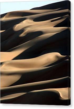 Sahara Sand Shadows Canvas Print by Joe & Clair Carnegie / Libyan Soup