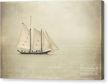 Sailing Ship Canvas Print by Hannes Cmarits