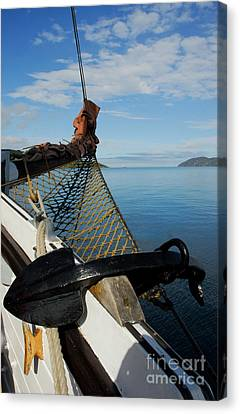 Sailing Through The Narrows Canvas Print