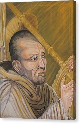Saint Bernard Of Clairveaux Canvas Print