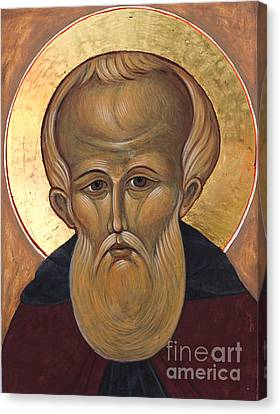 Saint Demetrius Canvas Print by Christine Hales
