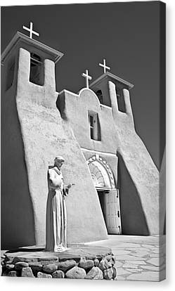 Saint Francisco De Asis Mission Canvas Print by Melany Sarafis