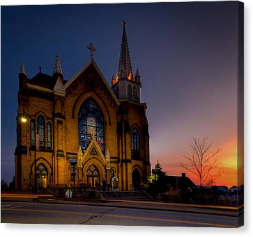 Saint Mary Of The Mount II Canvas Print by David Hahn