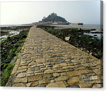 Canvas Print featuring the photograph Saint Michael's Mount by Lainie Wrightson