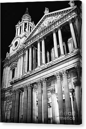 Saint Paul's Cathedral - Front Canvas Print by Thanh Tran