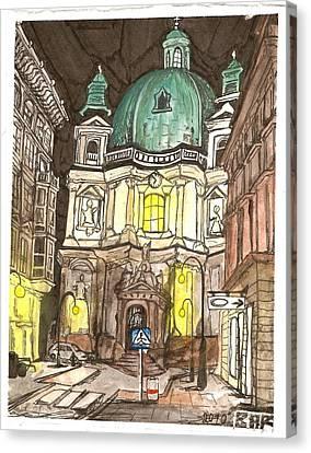 Kirche Canvas Print - Saint Peters Kirche by Brian Reynolds