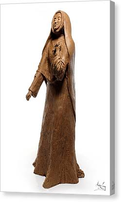 Saint Rose Philippine Duchesne Sculpture Canvas Print by Adam Long