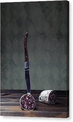 Salami Canvas Print by Joana Kruse
