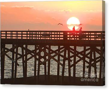 Canvas Print featuring the photograph Salt Air by Everette McMahan jr