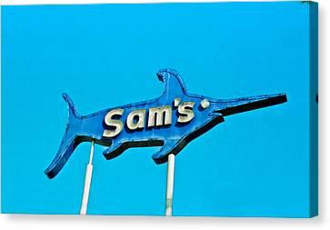 Sam's Canvas Print by Matthew Bamberg