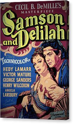 Fid Canvas Print - Samson And Delilah, Hedy Lamarr, Victor by Everett