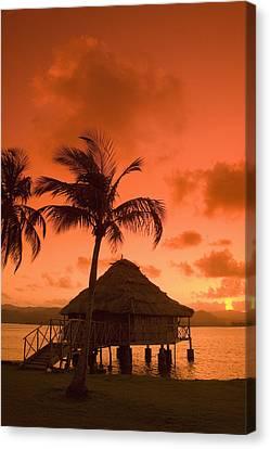San Blas Sunrise Canvas Print