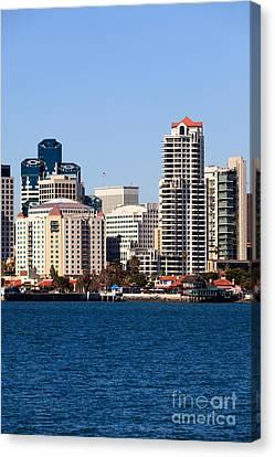 San Diego Buildings Photo Canvas Print by Paul Velgos