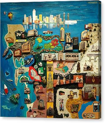 San Diego Canvas Print by Robert Handler