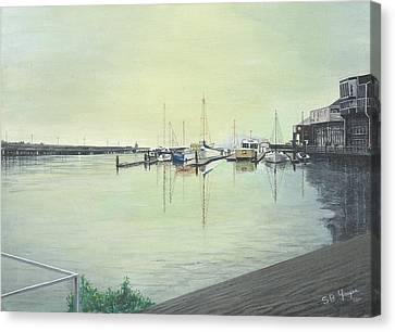 San Franciscio Bay Canvas Print