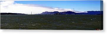 San Francisco Bay Panorama Canvas Print