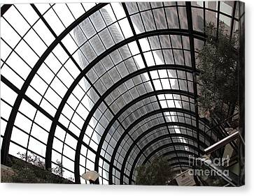 San Francisco Crocker Galleria - 5d17869 Canvas Print by Wingsdomain Art and Photography