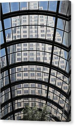 San Francisco Galleria - 5d17073 Canvas Print by Wingsdomain Art and Photography