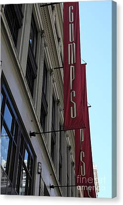 San Francisco Gumps Department Store - 5d17091 Canvas Print by Wingsdomain Art and Photography