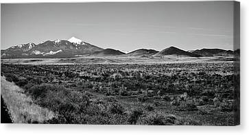 San Francisco Peaks Canvas Print by Gilbert Artiaga