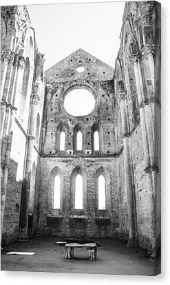 San Galgano Abbey Canvas Print by Ralf Kaiser