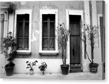 San Juan Living 2 Canvas Print by Perry Webster