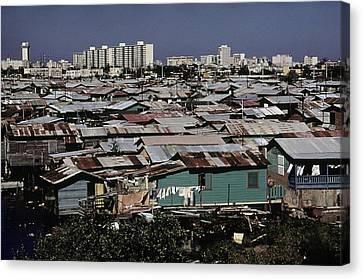 San Juan Puerto Rico. Modern Buildings Canvas Print by Everett
