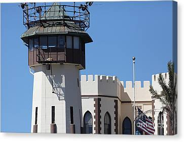 San Quentin State Prison In California - 5d18467 Canvas Print by Wingsdomain Art and Photography