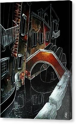 San Stae - Arti Grafiche Venezia Italia Canvas Print by Arte Venezia