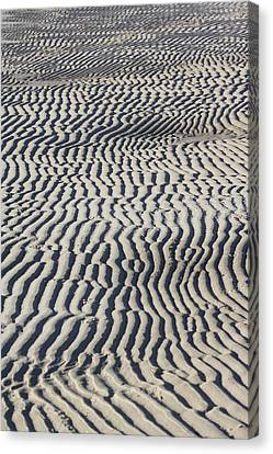 Sand Art Work Canvas Print