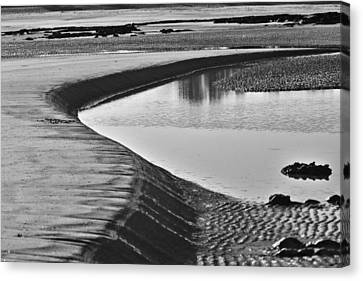 Sandbank  Canvas Print